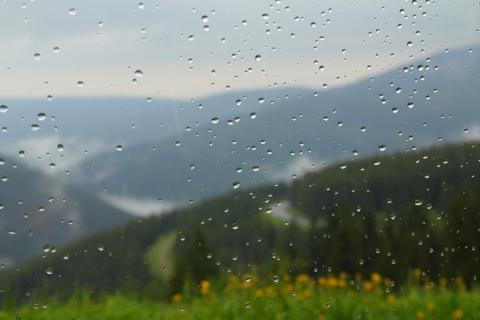 Krkonošský-déšť
